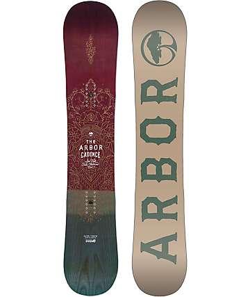 Arbor Cadence 143cm Womens Snowboard