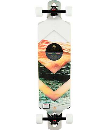 "Arbor Dropcruiser PC 38"" Drop-Through Longboard Complete"