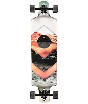 "Arbor Dropcruiser Photo Collaboration 38"" Drop through Longboard Complete"