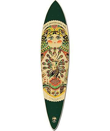 """Arbor Fish AC 39""""  Pintail Longboard Deck"""