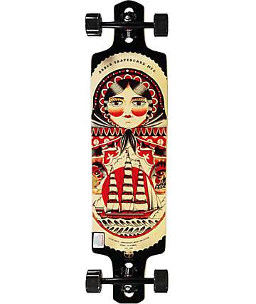 "Arbor Kyler Martz Drop Cruiser 38""  Drop-Through Longboard Complete"