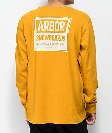 Arbor Moto Mustard Long Sleeve T-Shirt