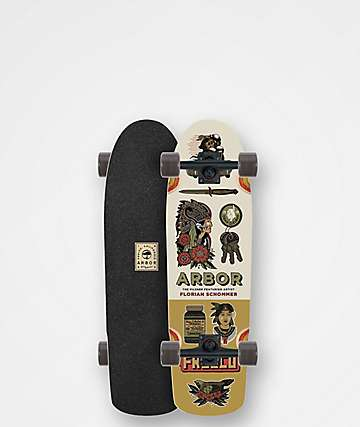 "Arbor Pilsner AC 29"" Cruiser Complete Skateboard"