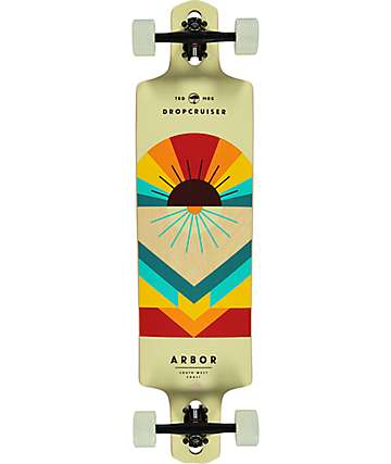 "Arbor Premium 38"" Drop-Through Longboard Complete"