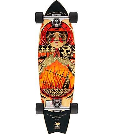 "Arbor Sizzler GT 31.75"" Cruiser Complete Skateboard"
