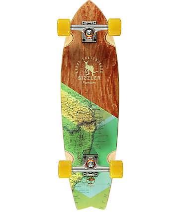 """Arbor Sizzler Premium 31.75""""  Cruiser Complete Skateboard"""