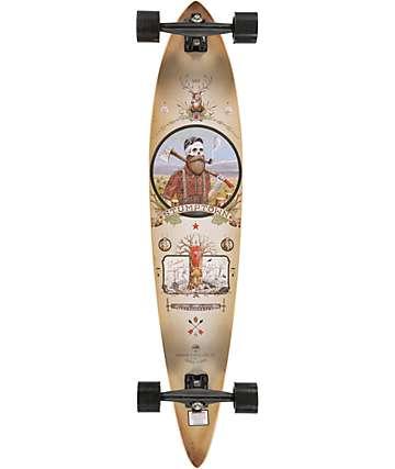 """Arbor Timeless GT Artist Series Derek Nobbs 46"""" Longboard Complete"""