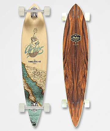 "Arbor Timeless Groundswell 42"" Longboard Complete"