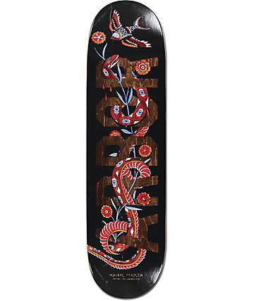 "Arbor Whiskey Martz Black Snake 8.5"" Skateboard Deck"