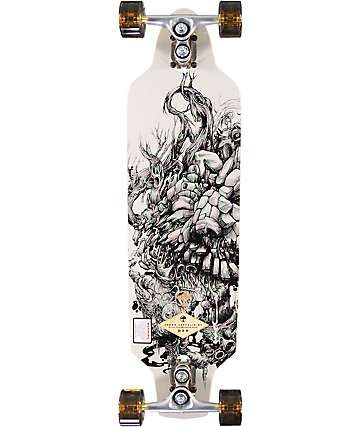 "Arbor Zeppelin BC 32"" Drop Through tabla longboard completo"