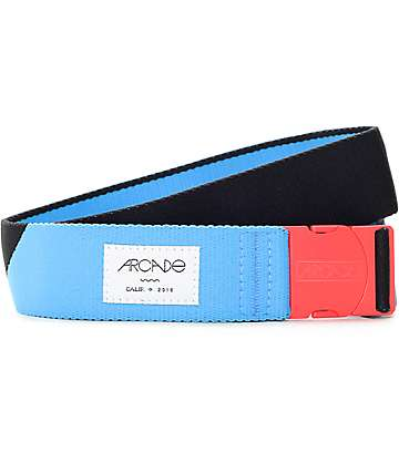 Arcade Cornerstone Blue & Black Clip Belt