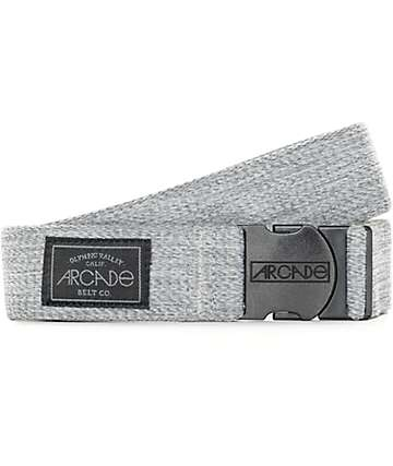 Arcade Foundation Heather Grey Clip Belt