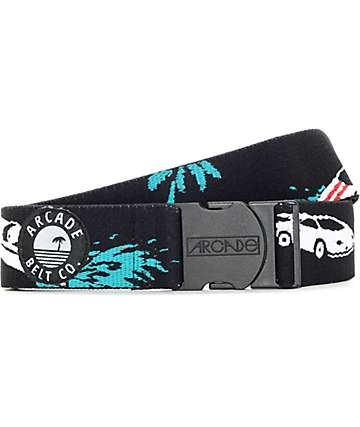 Arcade The Danger Beach Black Clip Belt