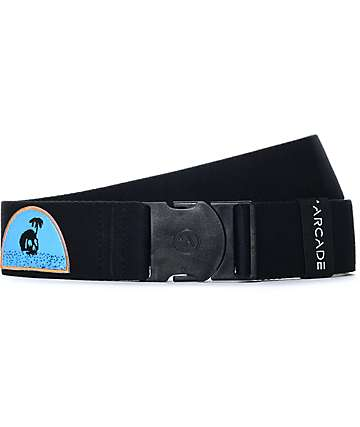 Arcade The Rambler Skull Island Black Clip Belt