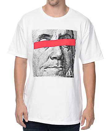 Artist Collective Benjamin 100 White T-Shirt