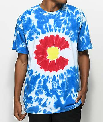 Artist Collective CO Flag Tie Dye T-Shirt
