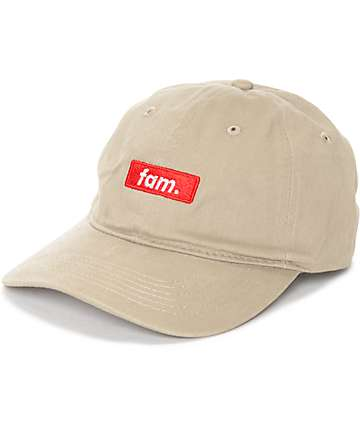 Artist Collective Fam Khaki Baseball Hat