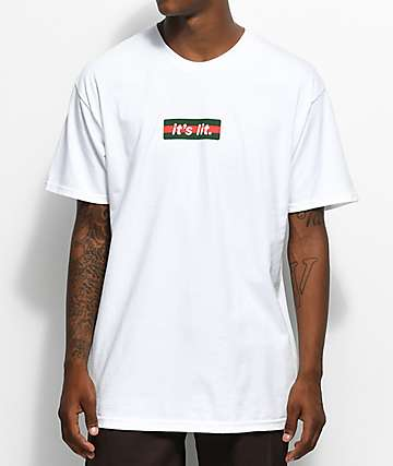 Artist Collective G Box It's Lit White T-Shirt