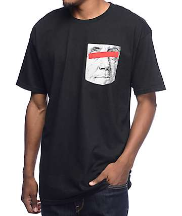 Artist Collective Keep It 100 Not Pocket Black T-Shirt