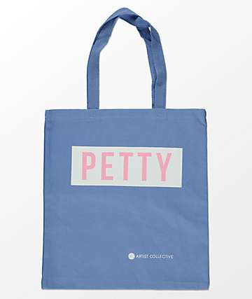 Artist Collective Petty Blue, White & Pink Tote Bag