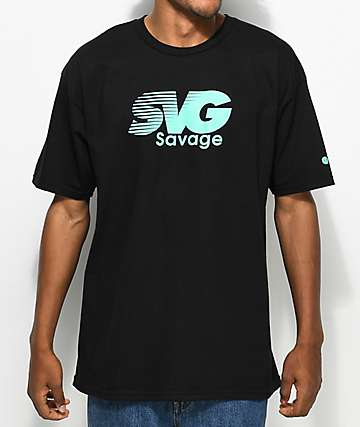 Artist Collective Savage Black T-Shirt