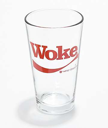 Artist Collective Woke Pint Glass