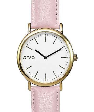 Arvo Time Sawyer White & Blush Watch