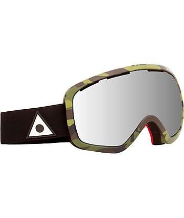 Ashbury Bullet Dark Camo Snowboard Goggle