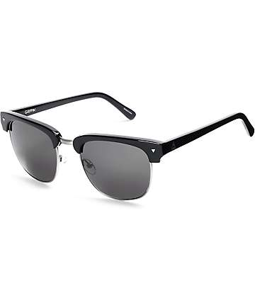 Ashbury Griffin Club Black Sunglasses