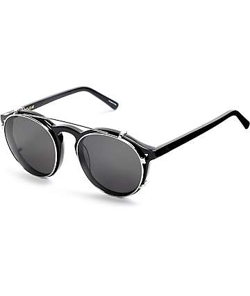 Ashbury Holiday Clip Black Sunglasses