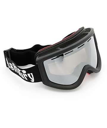 Ashbury Kaleidoscope Black Flag Snowboard Goggles