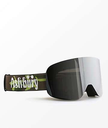 Ashbury Sonic Camo Silver Snowboard Goggles