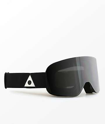 Ashbury Sonic Triangle Dark Smoke Snowboard Goggles
