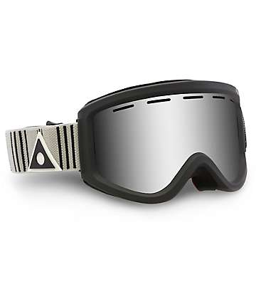 Ashbury Warlock Pin Stripe Silver Mirror Snowboard Goggles