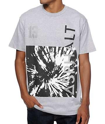 Asphalt Tie Dye Block Reflective 13 T-Shirt