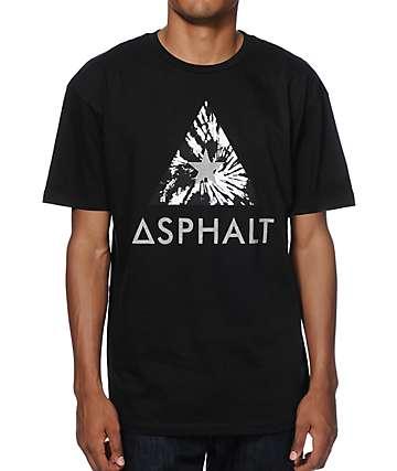 Asphalt Tie Dye Delta Reflective T-Shirt
