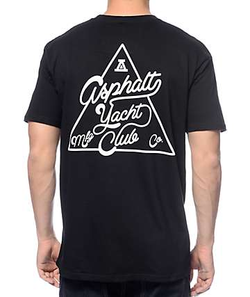 Asphalt Yacht Club ATC Tri-Lock Black T-Shirt