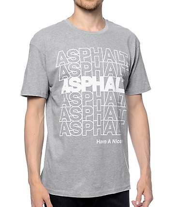 Asphalt Yacht Club Convenience Heather Grey T-Shirt