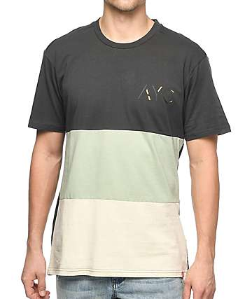 Asphalt Yacht Club Elongated Parchment, Sage & Charcoal T-Shirt