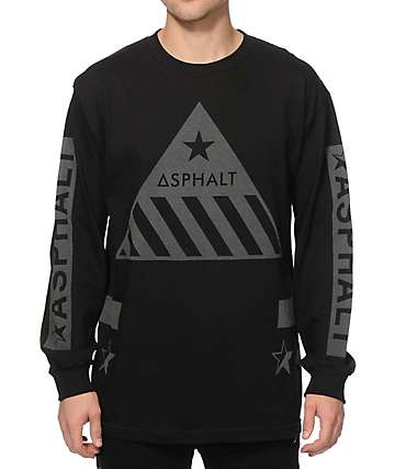 Asphalt Yacht Club Hazardous Long Sleeve T-Shirt