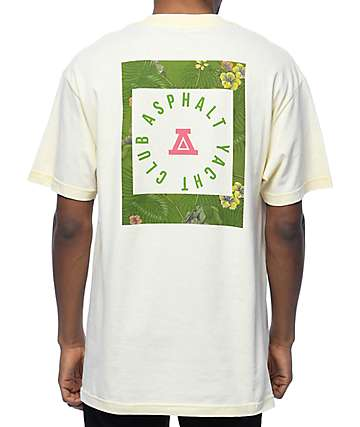 Asphalt Yacht Club Olive Hawaiian Tan T-Shirt