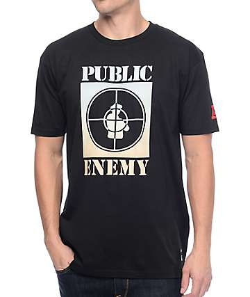 Asphalt Yacht Club Public Enemy Black T-Shirt