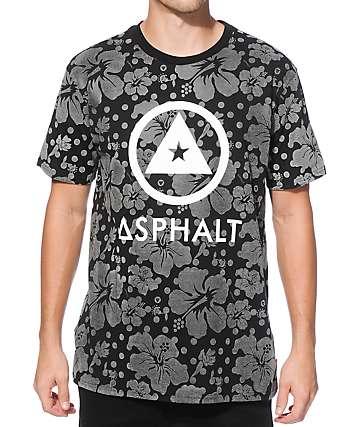 Asphalt Yacht Club Reflective Hibiscus T-Shirt