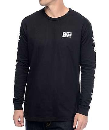 Asphalt Yacht Club Riley Flash Black Long Sleeve T-Shirt