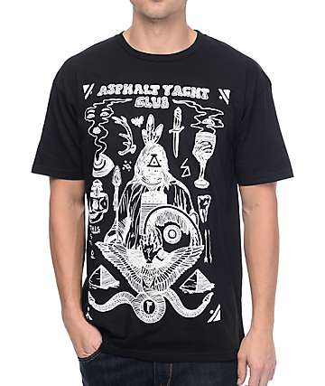 Asphalt Yacht Club Riley Flash camiseta negra