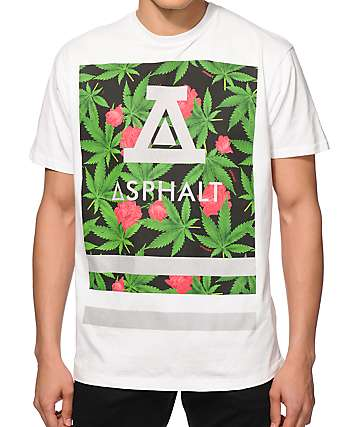 Asphalt Yacht Club Royal Kush Roman Reflective T-Shirt