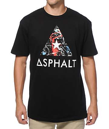 Asphalt Yacht Club Sprayed Delta T-Shirt