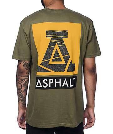 Asphalt Yacht Club Street Life Olive T-Shirt