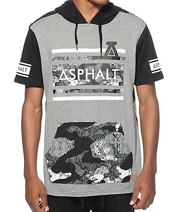 Asphalt Yacht Club Strike Hooded T-Shirt