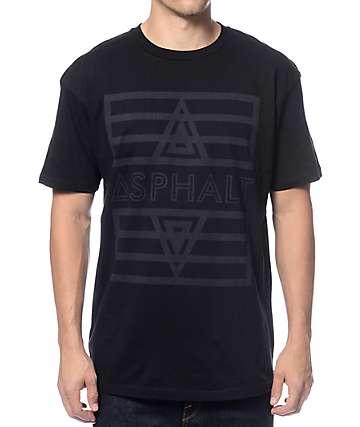 Asphalt Yacht Club Tonal Vert Black T-Shirt